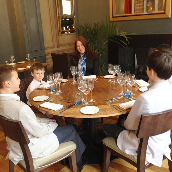 sitting with taryn Jahme, Niche Etiquete Children, British Etiquette London