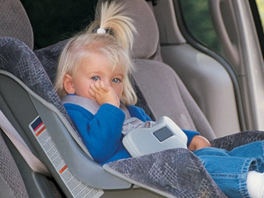 Leaving children in cars is dangerous