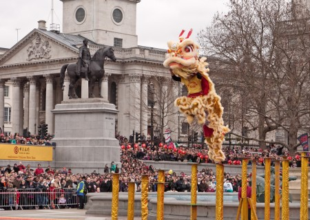Chinese New Year Celebrations 2015 in London