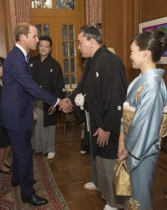Priince William in Japan