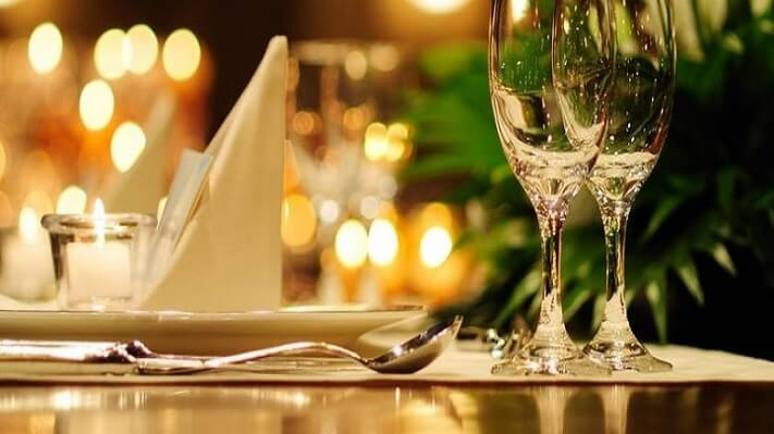 silver service dining in London for children, etiquette training